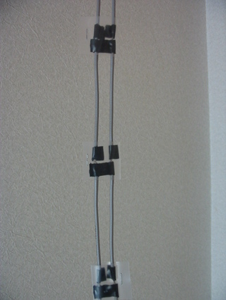 同軸ケーブルの加工